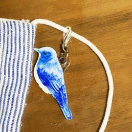 鳥のマスクチャーム